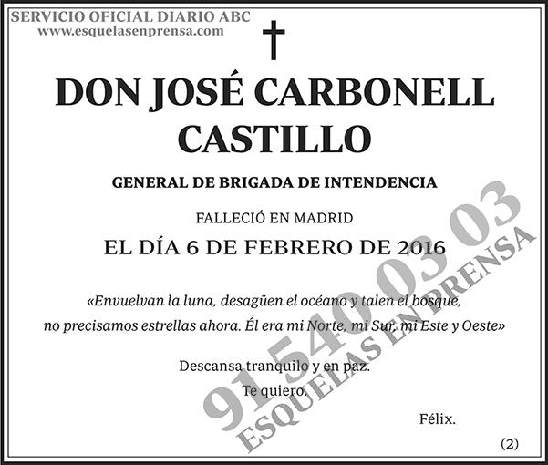 José Carbonell Castillo